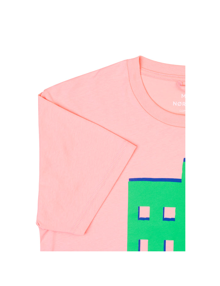 Printed Tee Thor House, Pink Icing