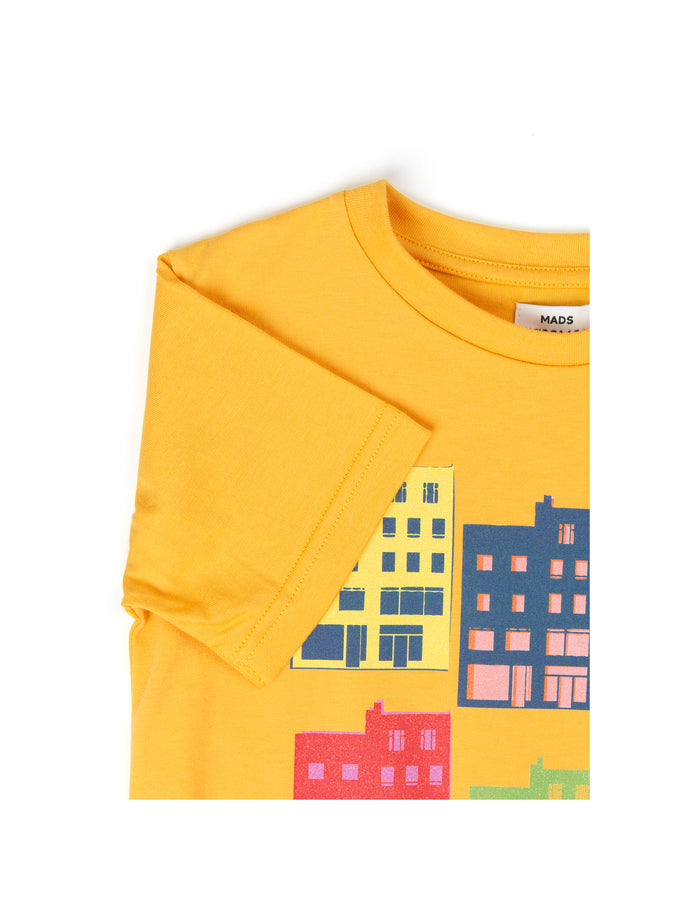Printed Tee Thorlino House, Golden Rod