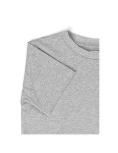 Badge Tee Thorlino, Grey Melange