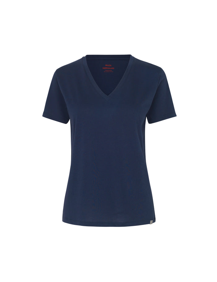 Organic Favorite Trimmy V, Navy