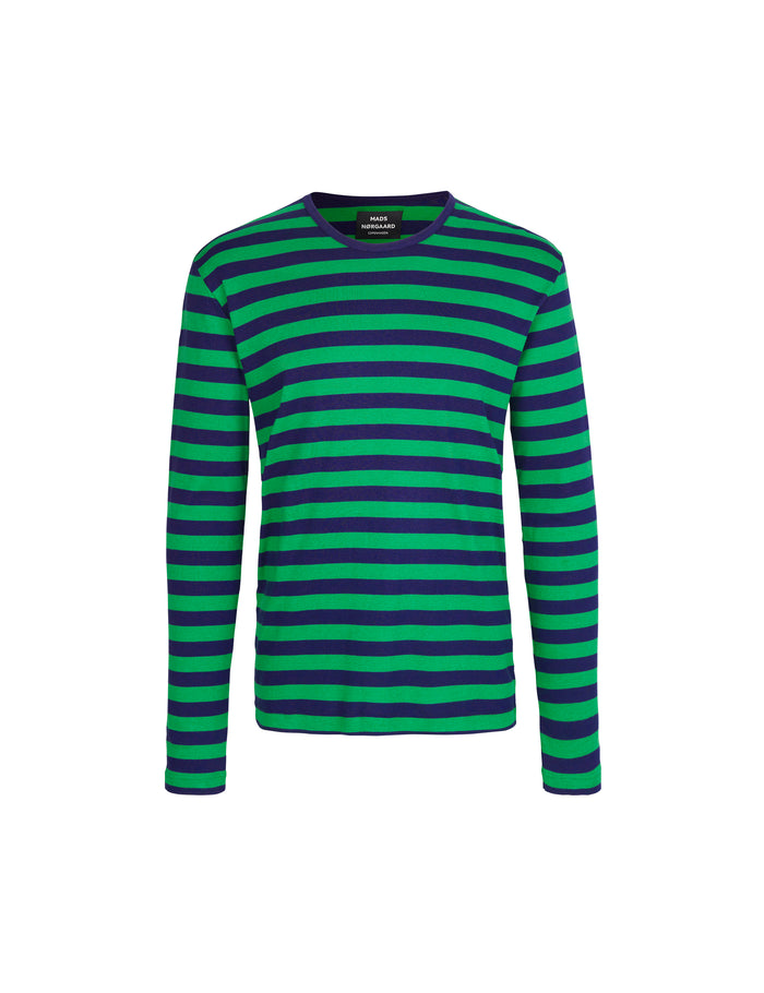 Midi Rib Tobias Long, Navy/Online Lime/Navy
