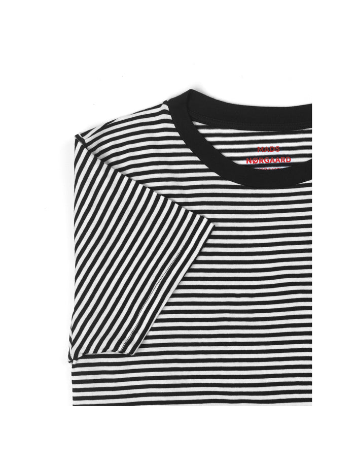 Organic Favorite Stripe Trimmy, Black/White
