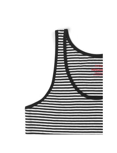 Organic Favorite Stripe Topsa, Black/White