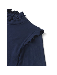 2x2 Eco Viscose Trelly, Dark Navy