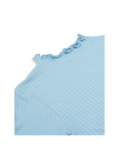 5x5 Eco Rib Trutte, Light Blue