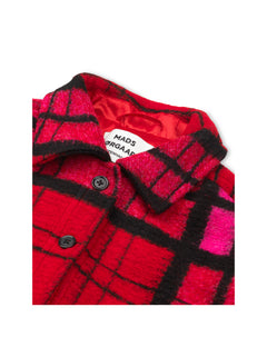 Scruffy Wool Cabsy, Pink check
