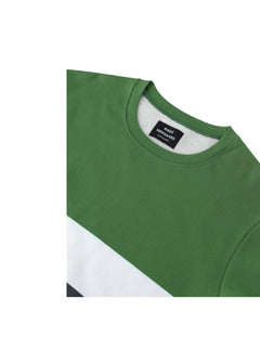 Ringel Sweat Shad, Artichoke Green/White/Granite