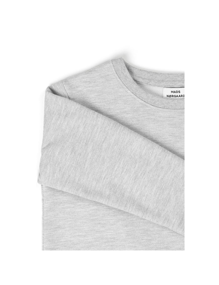 Brushed Sweat Solomino, Grey Melange