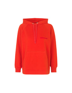 Organic sweat Seally Flock, Warm red