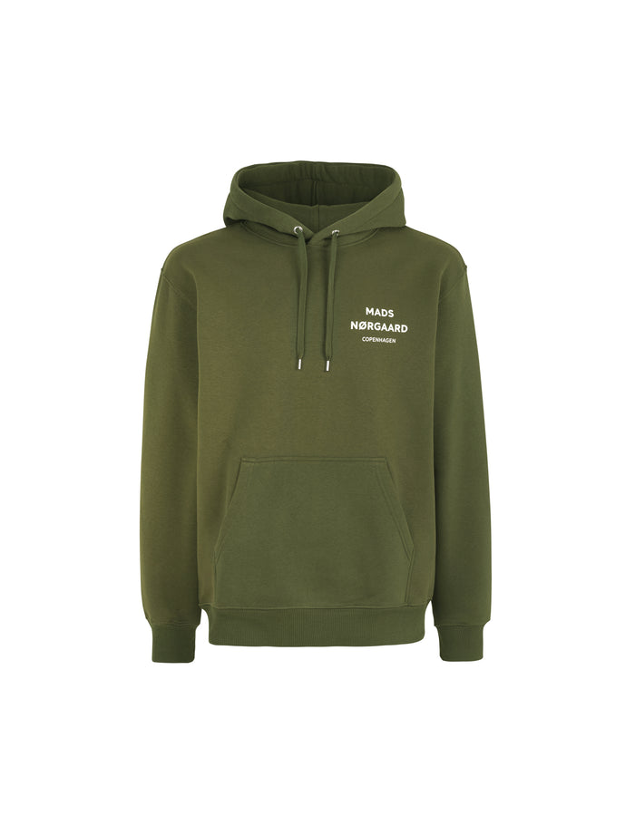 Logo Sweat Hoodie, Rifle Green