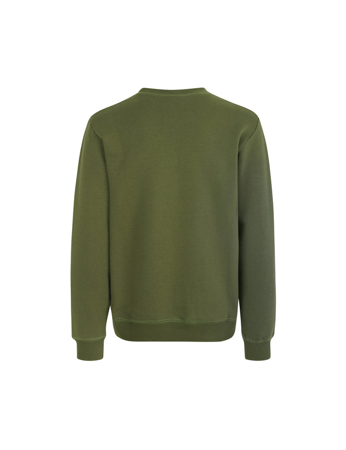 Logo Sweat Crewneck, Rifle Green