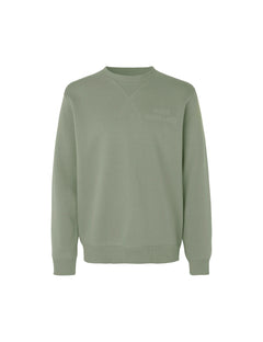 New Standard Crewneck Emb, Sea Spray
