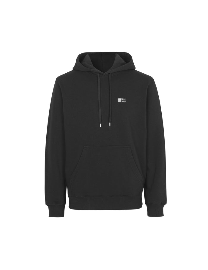 New Standard Hoodie Badge, Black