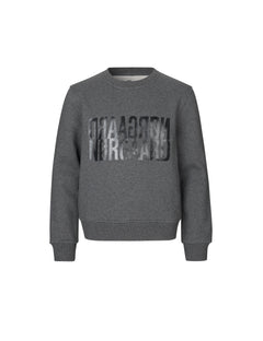 Organic Sweat Talinka, Dark Grey Melange