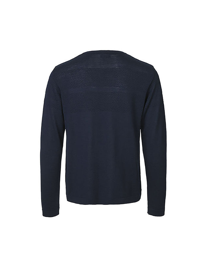 100% Light Wool Klap Old, Navy