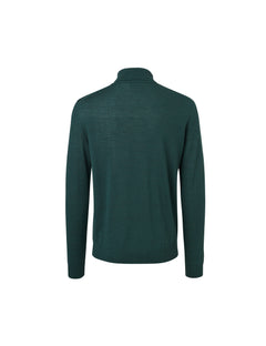 Fine Italian Knit Kamp, Rifle Green