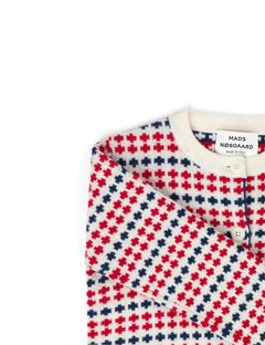 Iceland Kids Carmino, Ecru/Red/Navy