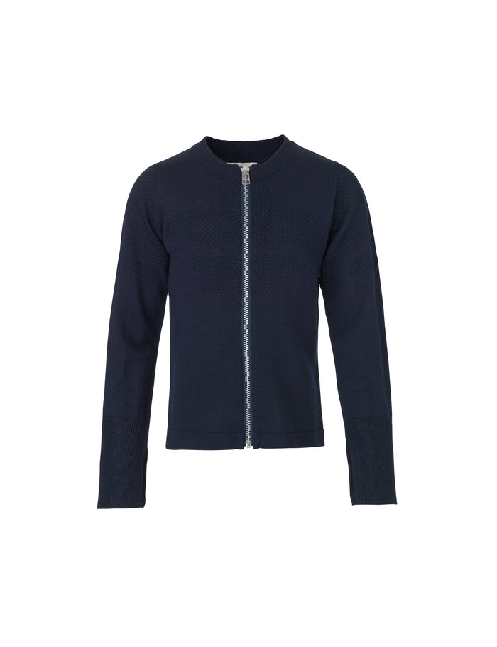 Wool Tender Klembino Zip, Navy