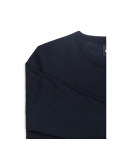 100% Light Wool Klap, Navy