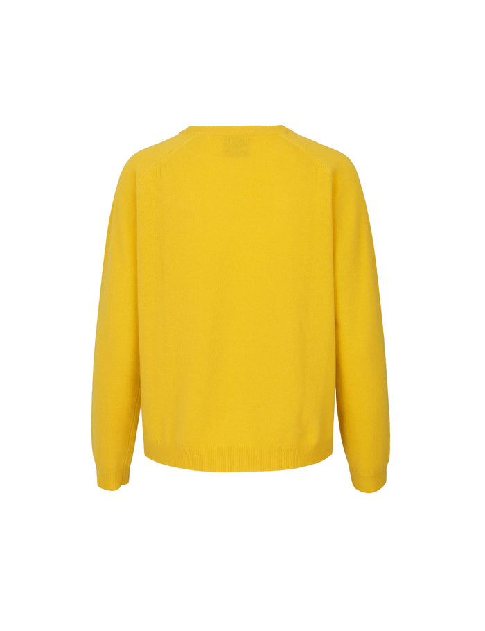 Cosy wool Kaxa, Yellow