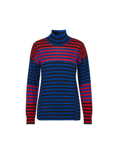 Merino boutique Karilla mix, Black/Blue/red