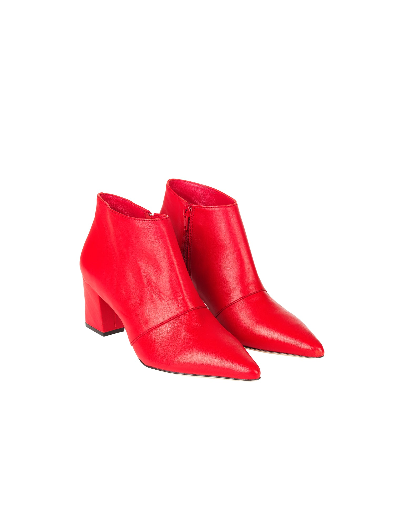 Fine Leather Antone, Bright Red