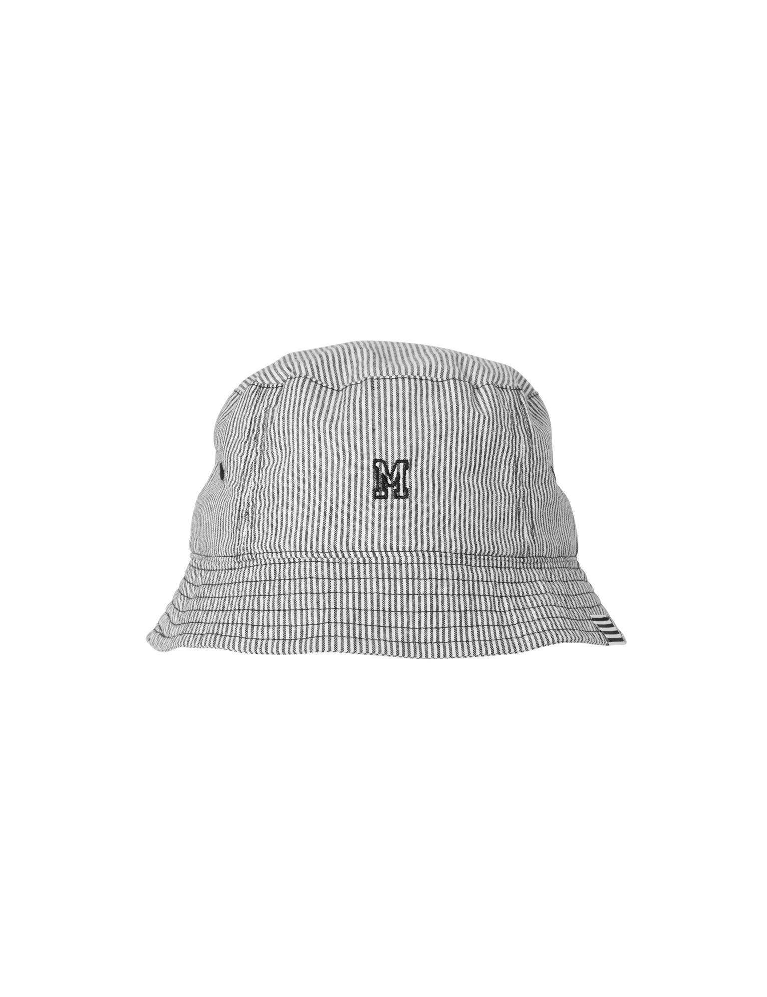 Bucket Ash, Black/White Stripe