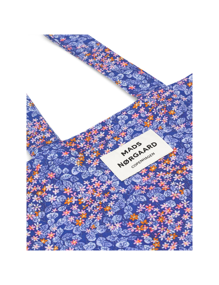 Canvas Twill Atoma, Blue Flower