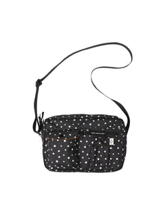 Recycled Bel Air Cappa Dot, Black/Off White Dot