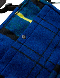 Bel Couture Cappa Wool, Blue Check