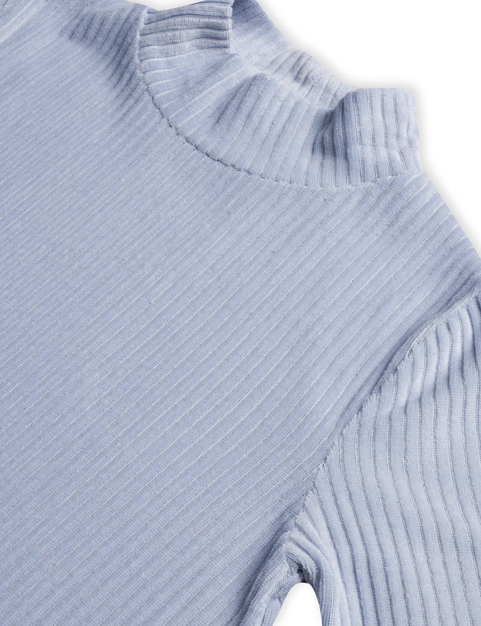 Stretch Corduroy Dacina short, Forever Blue