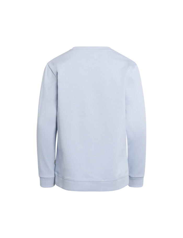 Organic Sweat Solomino, Zen Blue