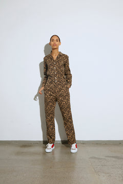 Fresh Print Denim Camille, Brown Leopard
