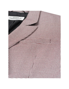 Dogtooth Check Blazilla, Red/Black
