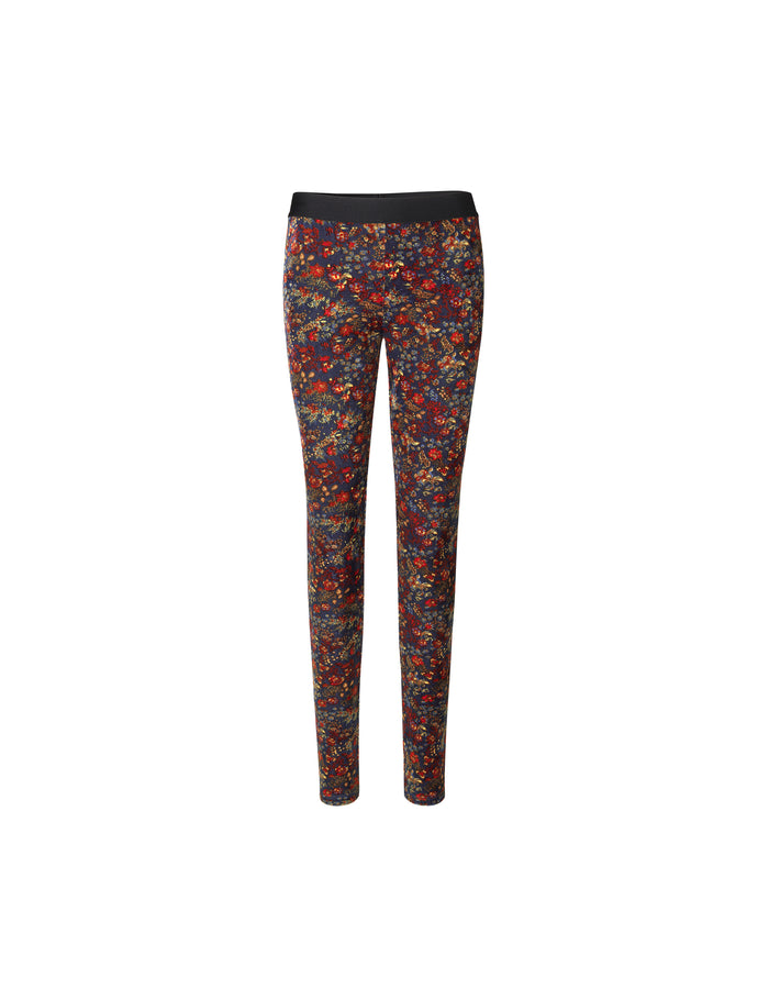 Velvet flower Lou, Navy/multi