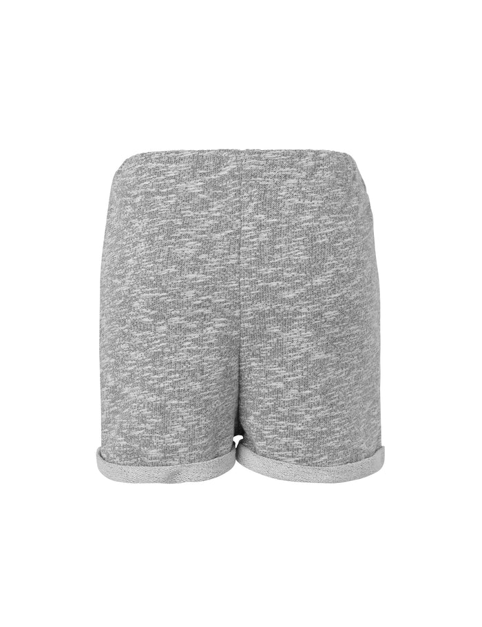 Marl Sweat Paniya Short, Charcoal Melange