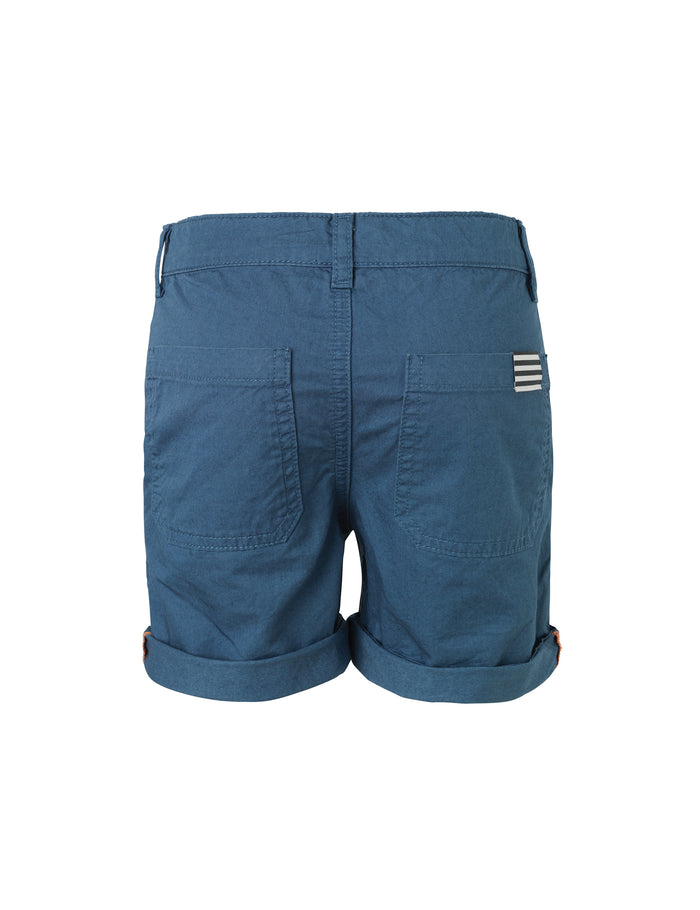 Fine twill  Pylano short, Dark Denim