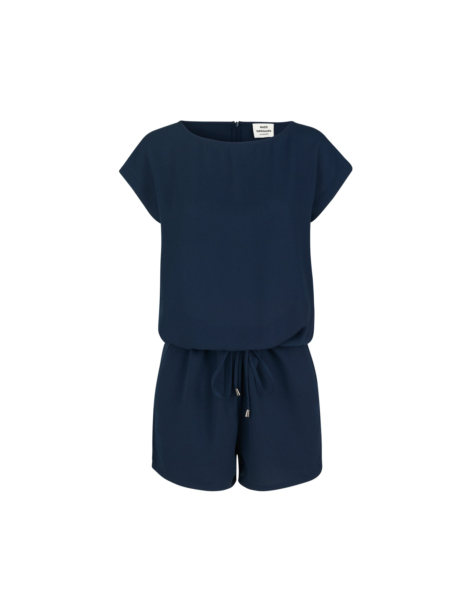 Crepe Georgette Cavi short, Navy
