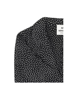 Dot Viscose  Cenna, Black/Ecru