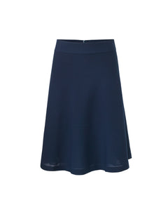 Crepe georgette Stelly c, Navy