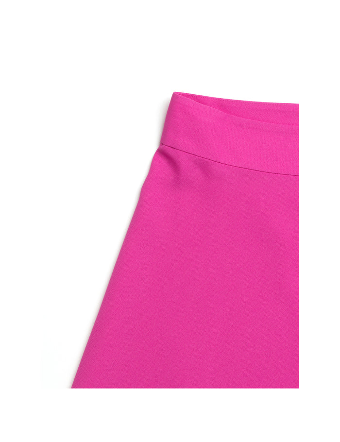 Crepe Georgette Stelly C, Hot Pink
