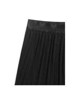 Plisse Georgette Sharlotta cut, Black