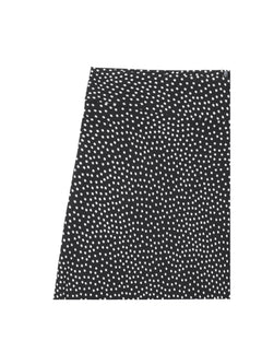 Dot Viscose Stelly c, Black/Ecru