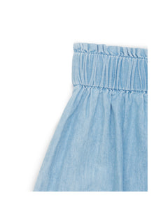 Simple Denim Stepina, Light Blue