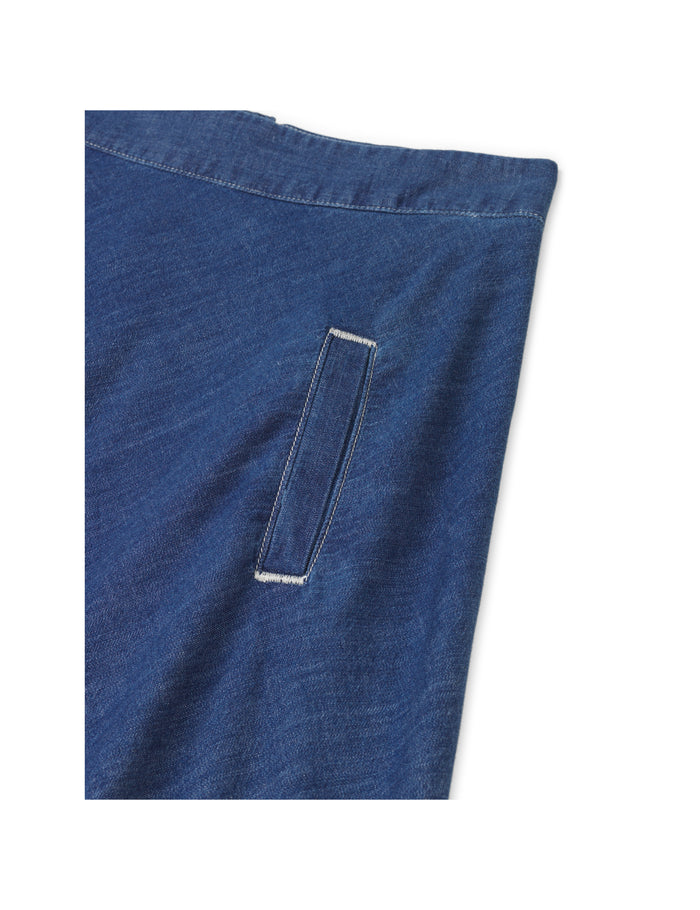 Soft Indigo Stelly C Long, Vintage Wash