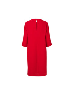 Crepe georgette Dussa, Red