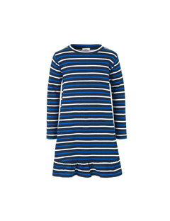 Bretagne Organic Dreamina Long, Navy/Ecru/Bright Blue