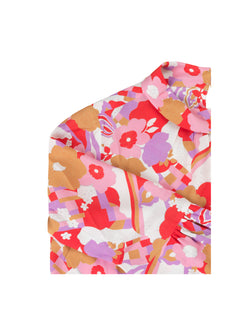 Flower Viscose Delsa, Pink Flower