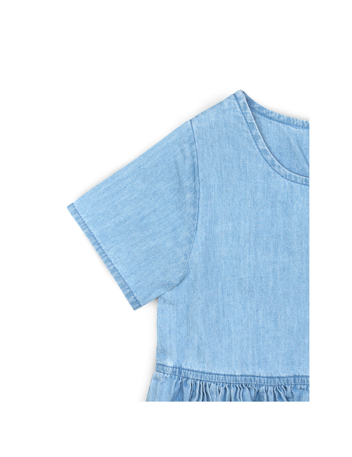 Simple Denim Daisy, Light Blue