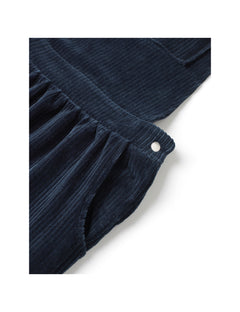 Stretch Corduroy Drilla, Navy